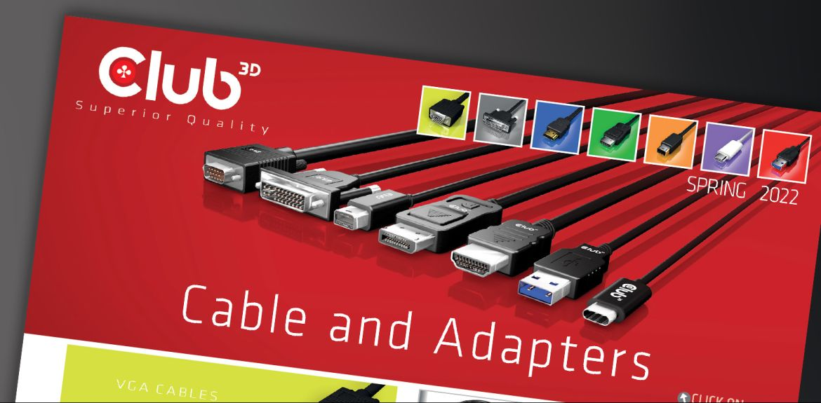 Club 3D Kabels en Adapter Catalogus 2021