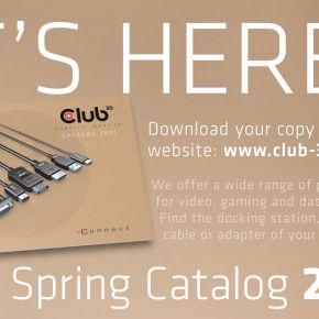 Club 3D Catalog Spring 2021 - discover our awesome range of Products