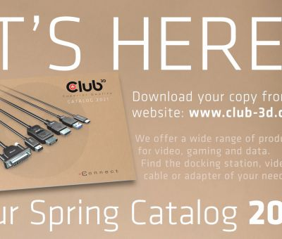 Club 3D Catalog for May 2020 - discover our awesome range of Products